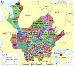 Resultado de imagen para municipios de antioquia mapa