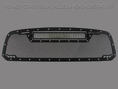 Royalty Core - DODGE RAM 1500 2013-2017 RCRX LED Race Line Grille-Top Mount LED