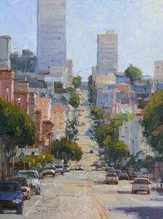 """San Francisco Cityscape"" by Bryan Mark Taylor"