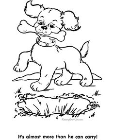 puppy dog sheet to color free printable dog coloring sheets of dogs are of fun for kids - Puppy Dog Coloring Pages