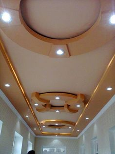 Modern Gypsum Ceiling Design Ideas For Your Home - Engineering Discoveries Drawing Room Ceiling Design, Simple False Ceiling Design, Plaster Ceiling Design, Gypsum Ceiling Design, Interior Ceiling Design, House Ceiling Design, Ceiling Design Living Room, False Ceiling Living Room, Bedroom False Ceiling Design