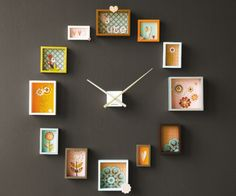 Photo frame clock, the Karlsson Passe Partout clock