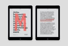 Interactive PDF & banners for art academy AKV|St.Joost Breda.