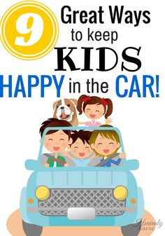 After our last road trip, these were the things that kept us all sane! Keeping kids happy in the car is no easy task!!
