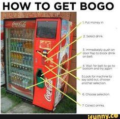 lifehack, coke, free, cocacola, bogo