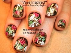 Japanese inspired Nail art by Robin moses! Spread the word :D