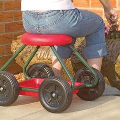 garden or shop stools | Garden Stool on Wheels
