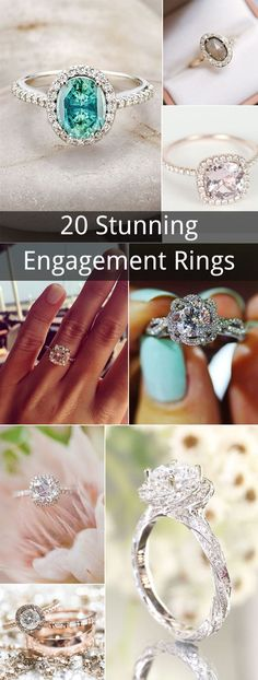 top 20 stunning wedding engagement rings to love