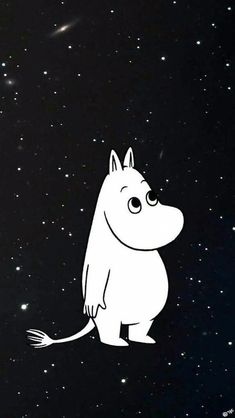 Moomin among the stars - Tove Jansson Cute Wallpapers, Wallpaper Backgrounds, Iphone Wallpaper, Moomin Wallpaper, Les Moomins, Sketch Note, Tove Jansson, We Bare Bears, Illustration