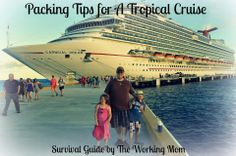 Packing Tips For A Tropical Cruise With Kids