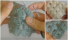 KENARLARI İLE AYNI ÖRNEKLİ BÜTÜN ÖRGÜDEN ŞAL VİDEOSU   Nazarca.com Moda Emo, Fingerless Gloves, Arm Warmers, Crochet Earrings, Crochet Patterns, Create, Tutorial Crochet, Crochet Shawl Patterns, Tricot