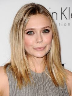 So ELLE had an event, and all kinds of (mostly A-list) celebs showed up—including my new beauty crush Elizabeth Olsen — BEAUTY EDITOR