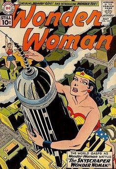 Wonder Woman #122 - The Skyscraper Wonder Woman (May 1, 1961)