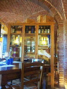 Enoteca Graziani Restaurant (interior). #EnotecaGraziani