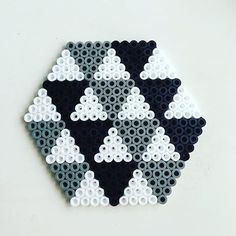 Coaster hama beads by  hamakarma