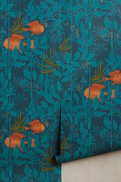 Ocean Reverie Wallpaper - anthropologie.com
