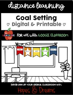 Hopes and Dreams in a Digital Classroom for Distance Learing - The Learning Lab by Stacey Colegrove Classroom Rules, Google Classroom, Classroom Activities, Learning Resources, Teacher Resources, Going Back To School, Middle School, Academic Goals, Elementary Schools