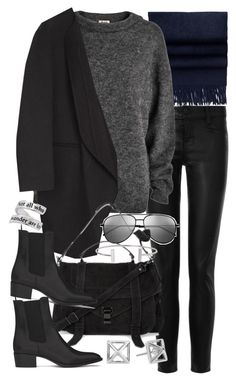 """Untitled #18791"" by florencia95 ❤ liked on Polyvore featuring J Brand, Acne Studios, Yves Saint Laurent, Proenza Schouler, Humble Chic and Rebecca Minkoff"