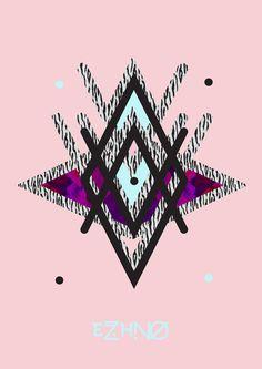 EZHNO graphic poster