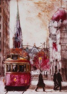 Philip Beadle Boulevard Tram