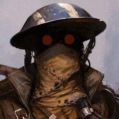ArtStation - Ghost Fleet of AthenRoo, Ben Nicholas Character Concept, Character Art, Concept Art, Steampunk, Apocalypse World, Arte Robot, Diesel Punk, Fallout, Arte Horror