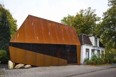 11 Examples Of Architecture Using Weathering Steel
