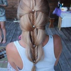 Fairy tale fishtail braid when i get married i want my hair to look like this :)