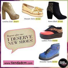 ¡Estas maravillas pueden ser tuyas con tan solo un click!  No te las pierdas en www.tiendadcm.com/listado/Zapatos/27080