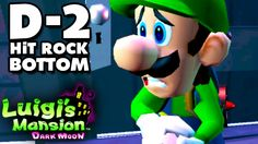 Luigi's Mansion Dark Moon - Secret Mine - D-2 Hit Rock Bottom