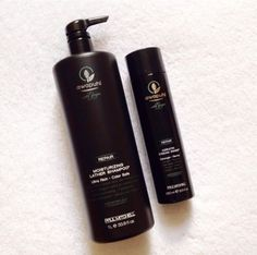 """""""This stuff is amazing. The perfect amount of moisture and keratin. And it smells delish!"""" --Alicia R.Try Paul Mitchell's Awapuhi Wild Ginger Repair shampoo ($18.95) and intensive keratin treatment ($22.43), found on Amazon."""
