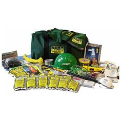 CERT Kit for Community Emergency Response Team Members. Be prepared to assist…