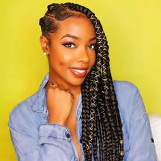 STYLECASTER | Protective Hairstyles to Try | Side Swept Cornrows