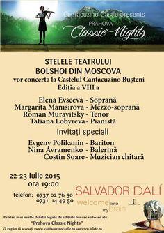 Stelele Teatrului Bolshoi - Classic Nights - 22 Iulie 2015