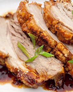 Crispy Chinese Asian Pork Checkers - Better and Better Chinese Roast Pork, Pork Roast, Asian Pork, Pork Recipes, Bacon, Yummy Food, Wellness, Meat, Dinner