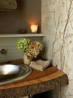 Banheiros ou Lavabos com um toque extra de charme