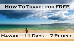 Travel Hacking A Free Trip To Hawaii For 7 People #iheartbudgets #budget