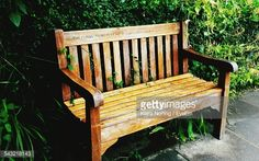 View top-quality stock photos of Empty Bench In Park. Find premium, high-resolution stock photography at Getty Images. Outdoor Furniture, Outdoor Decor, Royalty Free Images, Empty, Bench, Stock Photos, Park, Photography, Home Decor