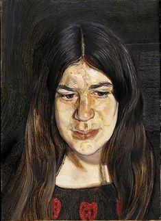 Annie  Lucian Freud