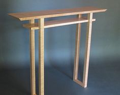 classic hall table modern wood furniture handmade foyer table narow console table narrow side