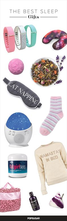 """32 Gift Ideas For Girls Who Love Their Sleep I really want the """"Namastay in bed"""" long sleeve shirt. Like really badly Christmas Birthday, Diy Christmas Gifts, Holiday Gifts, Birthday Gifts, Birthday Stuff, Birthday Ideas, Xmas, 30 Gifts, Cute Gifts"""