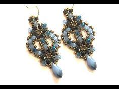 """Video Tutorial - DIY - Beaded Earrings """"Charlotte"""" - YouTube"""