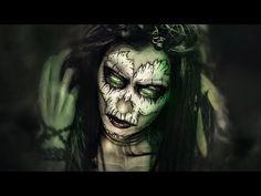 Calavera con sangre, Caníbal Gore, Maquillaje / Blood Skull Halloween Makeup - YouTube