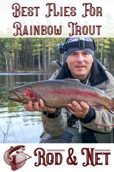 Trout Fishing Tips, Fly Fishing Gear, Fishing Knots, Trophy Fish, Rainbow Trout, Saltwater Fishing, Fly Tying, Fish Recipes, Reign