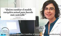 Eva Pellicer, becada L'Oréal-Unesco For Women in Science. Investiga para crear una alternativa a los combustibles fósiles tradicionales. #ellaspueden (cambiar el mundo)
