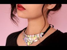 Fashion Topic El Galeón Pretty Crystal Necklace (Collar con Cristales) - YouTube