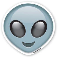 Extraterrestrial Alien | Emoji Stickers
