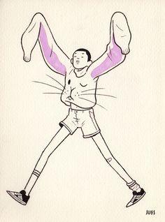 Julian Callos Illustration — Some 6″ x 8″ drawings I made last week. I want a...