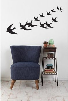 UrbanOutfitters.com > Freedom Birds Wall Decal