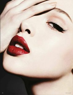 The Perfect Red Lip #redlip #pout #beauty