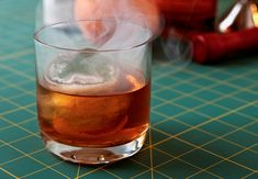 Yes, Smoked Cocktails Involve Real Smoke. Here's How to Make One at Home. Bar Drinks, Cocktail Drinks, Alcoholic Drinks, Beverages, Make Your Own, Make It Yourself, How To Make, Smoked Whiskey, Smoked Cocktails